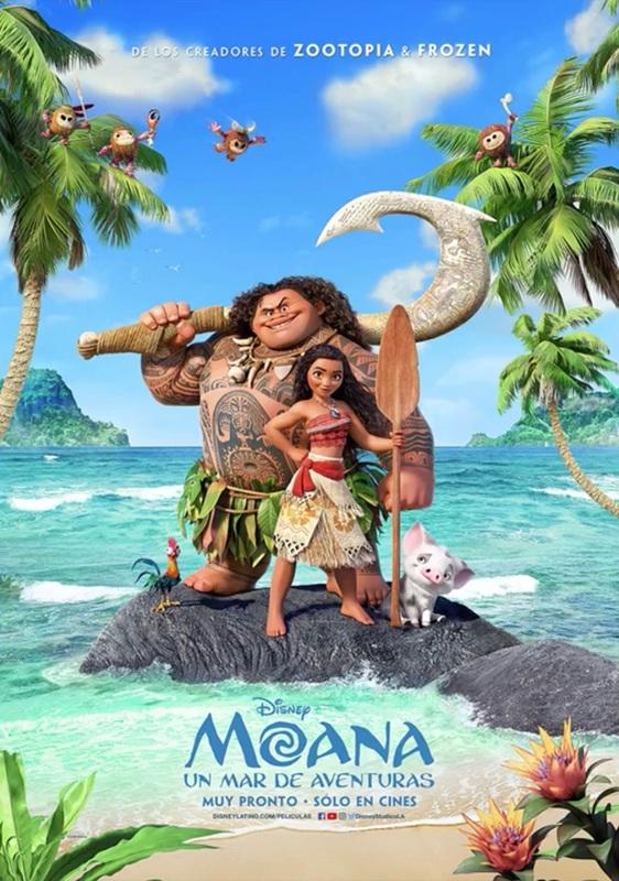 Moana: Un Mar de Aventuras 2016 [CAM] [Latino] [1 Link] [MEGA]