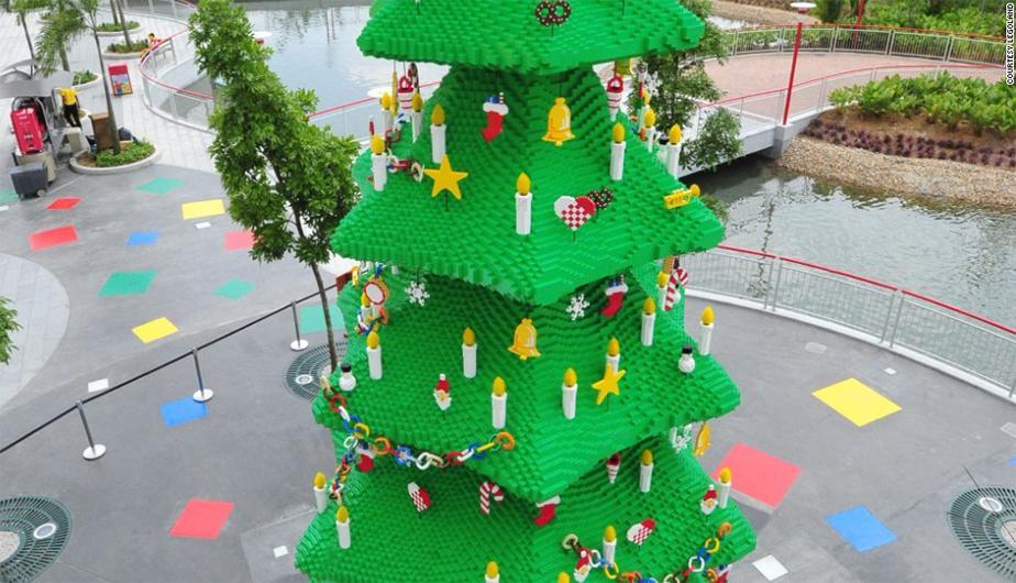 Árbol de Navidad de Lego – Malasia